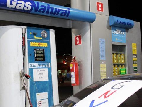 posto de gasolina gnv